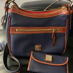 Dooney & Bourke Crossbody Bag and Matching Wallet